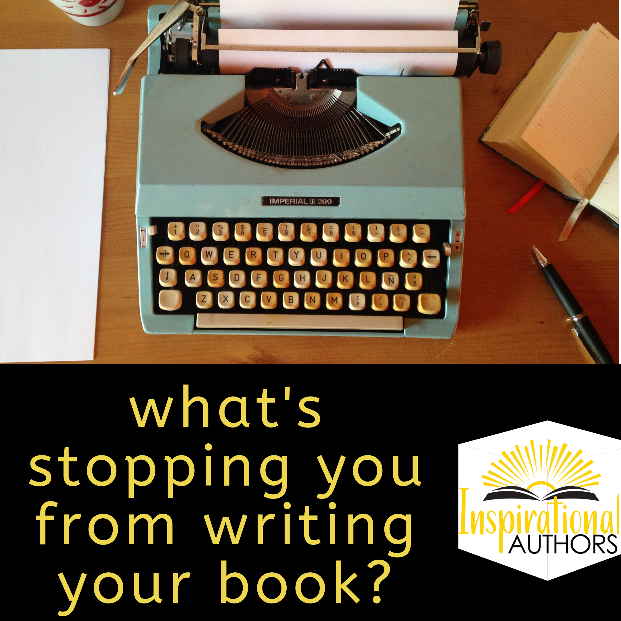 Why Is Your Book Still Stuck Inside You?